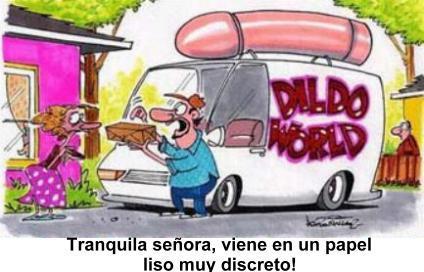 Dildo caricatura