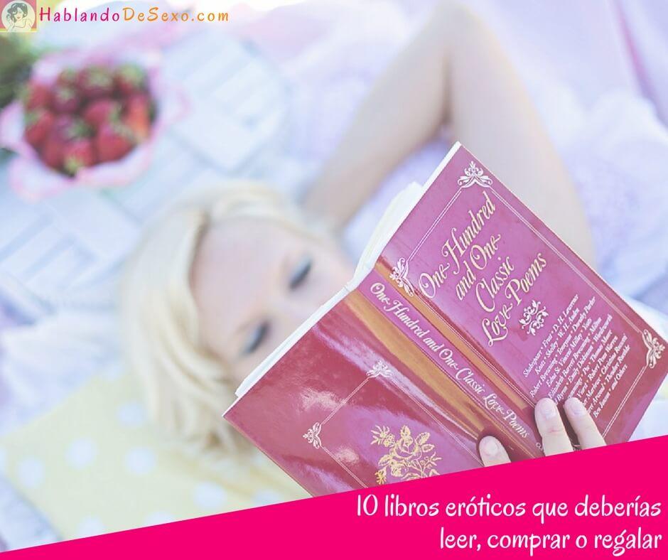 10 libros eróticos