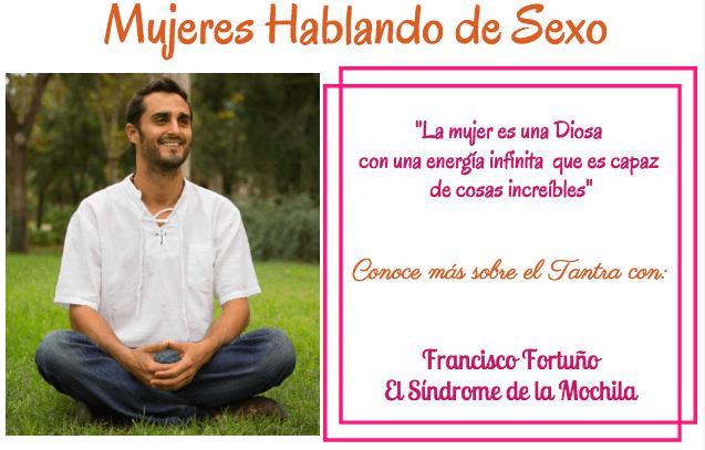 Francisco hablando de Tantra