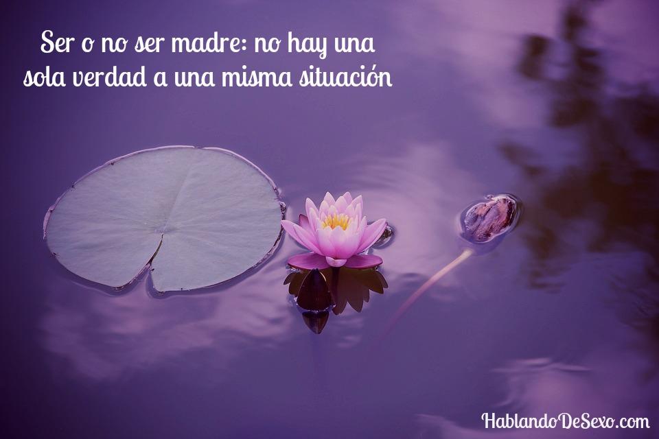 Ser o no ser Madre
