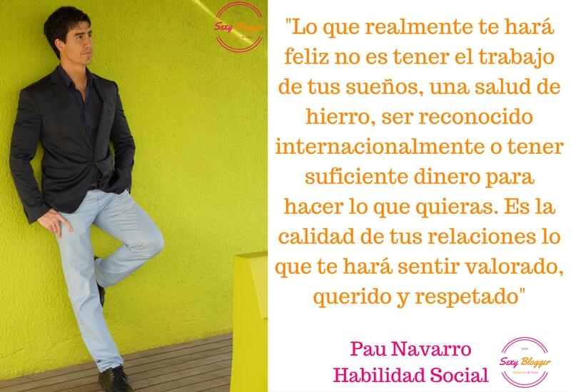Los bloggers más sexys: Pau Navarro