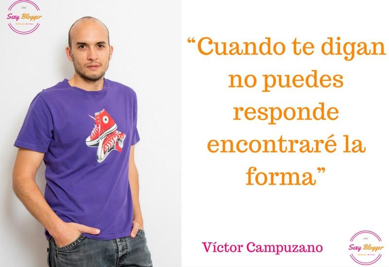 Los bloggers más sexys: Víctor Campuzano